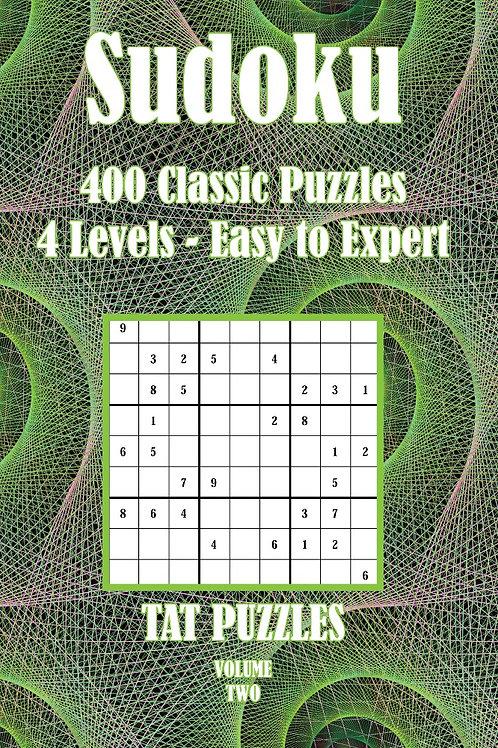 Sudoku 400 Classic Puzzles Volume 2