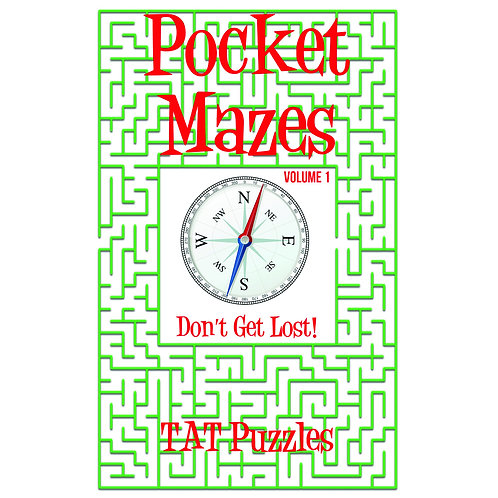 Pocket Mazes - Vol 1