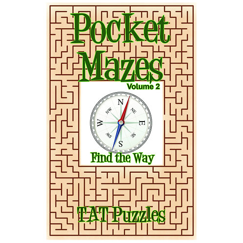 Pocket Mazes - Vol 2