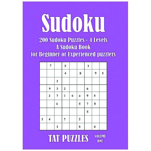 Sudoku - 200 puzzles - 4 levels - Vol 1