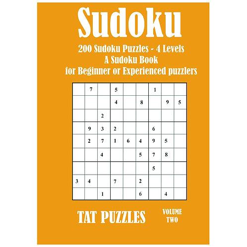 Sudoku - 200 puzzles - 4 levels - Vol 2