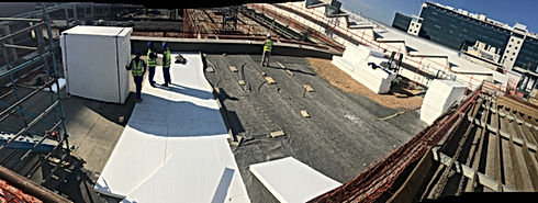 Warm Concrete Roof Insulation