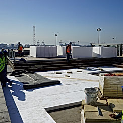 Polystyrene Insulation For Concrete Roofs