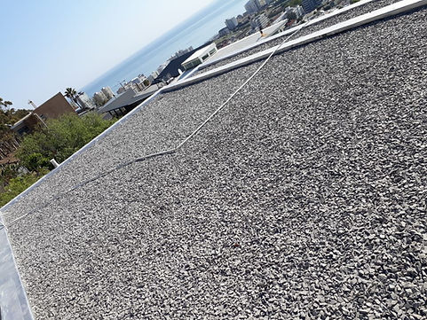 Stone On Concrete Roof Insulation Boards