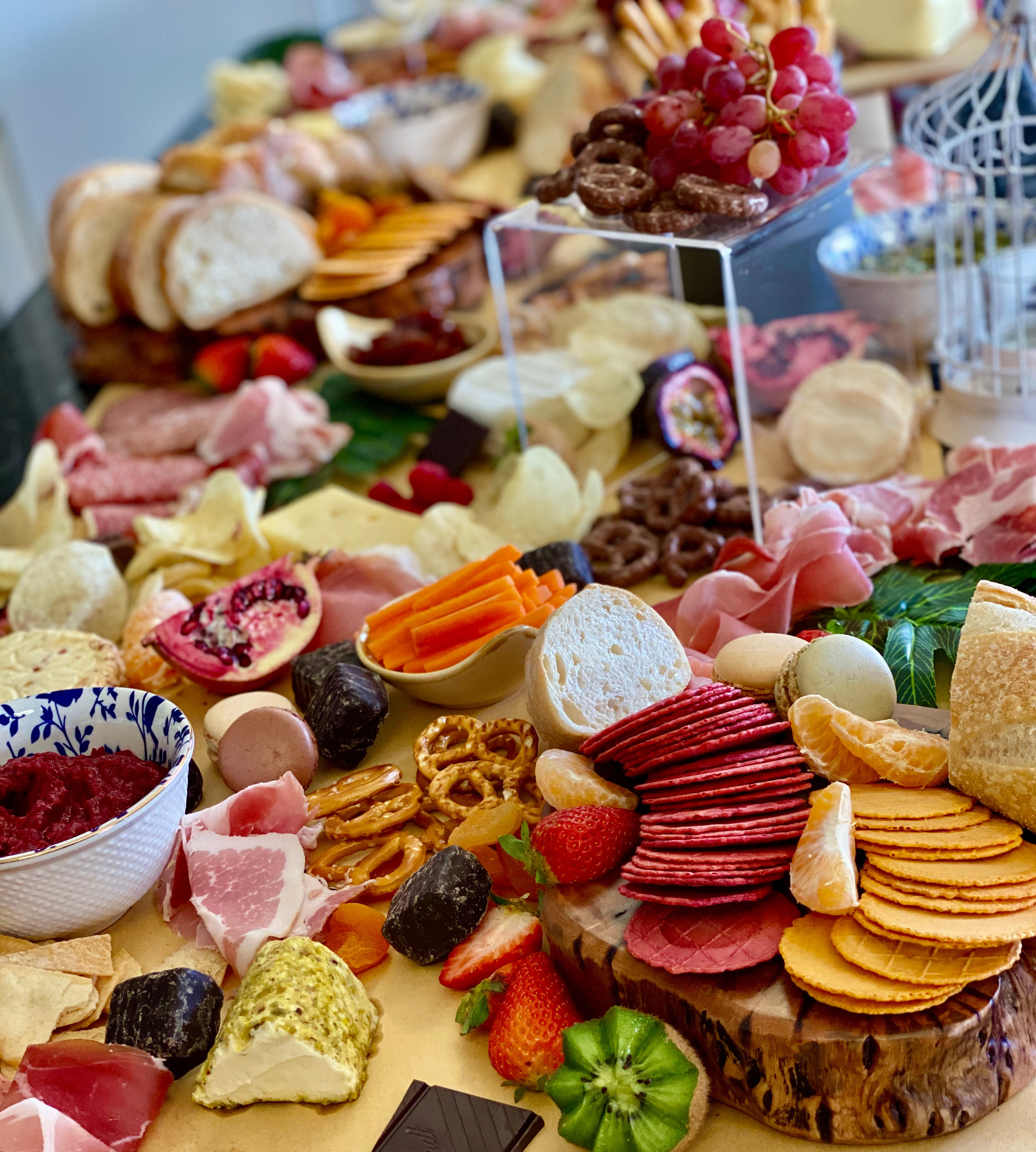 Sweet and Savoury Grazing Tables