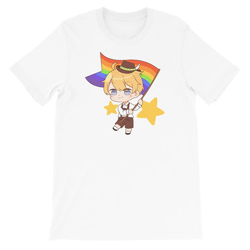 Konberii's German LGBTQ+ Pride Chibi Boy Shirt