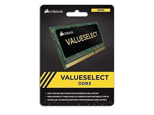 Corsair Memoria RAM 4GB DDR3L  VALUESELECT 1600Mhz