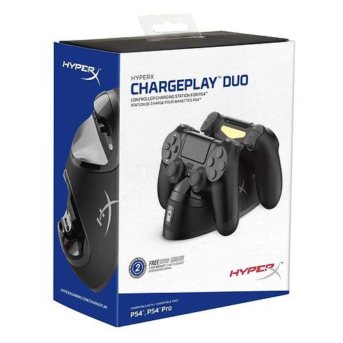 Stand de carga de controles ps4 HyperX Chargeplay Duo