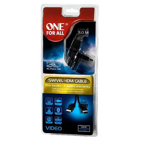 Cable Hdmi Full HD One For All 3.0m