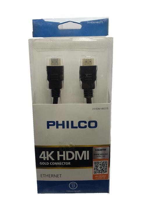 Cable HDMI Philco Premium 4K