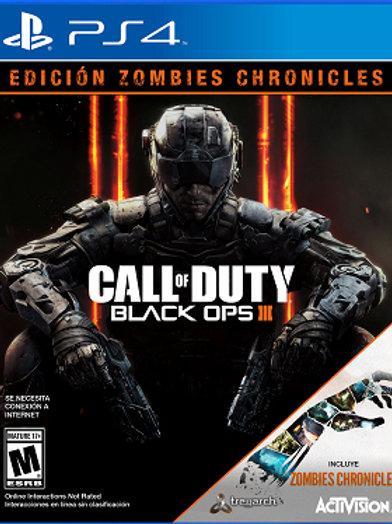 COD: Black Ops III Zombie Chronicles Ed