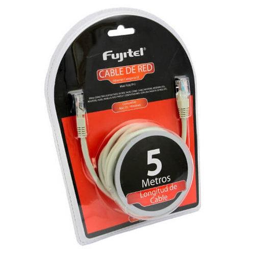 Cable de red Categoria 5E Fujitel 5mts.