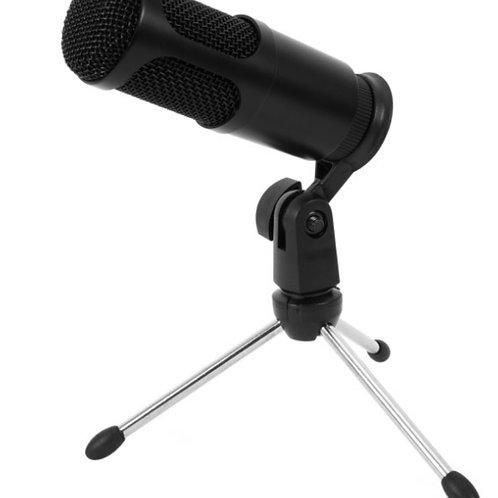 Microfono condensador USB para streaming