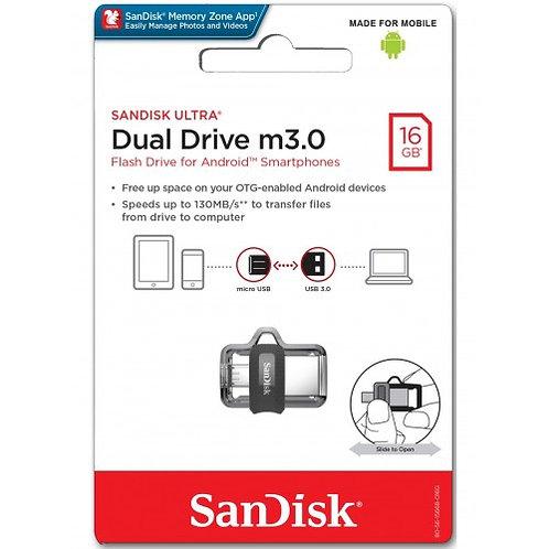 SanDisk Dual Drive m3.0 16GB