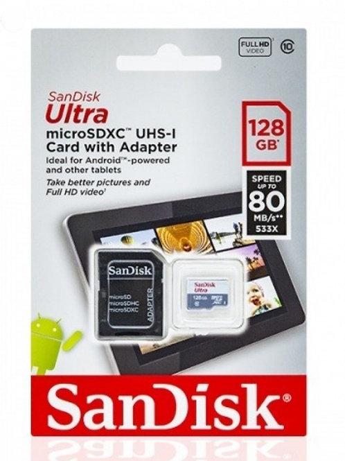 Sandisk Ultra Micro SDXC 128GB