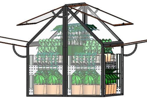 Balcony Greenhouse FG-1S