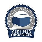 Friday Workbox Certified Organizer Logo.