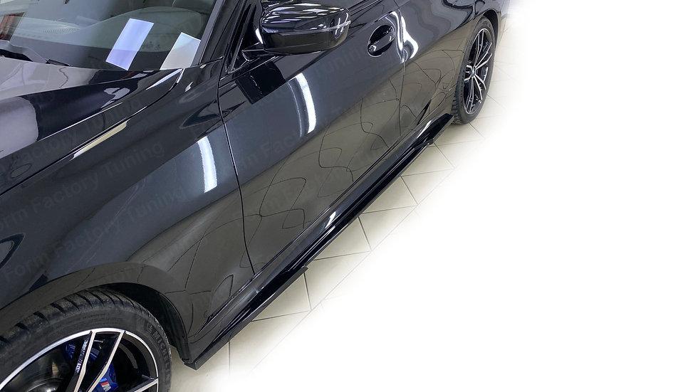 Накладки боковых порогов на BMW G20