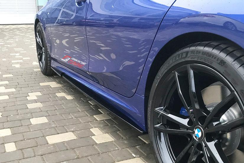 "Пороги BMW 3 G20 версии ""Classic"""