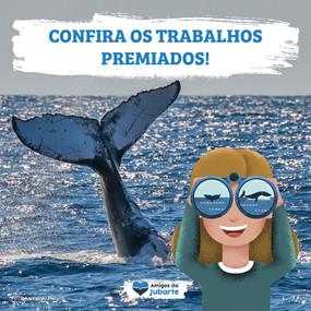 """Veja os premiados do concurso """"Onde Está a Baleia?"""""""