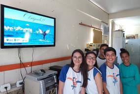 Projeto Amigos da Jubarte Vira Tema de Trabalho Na Serra