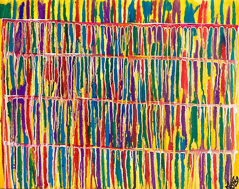 """""""Joy And Bliss"""" Original Abstract Painting"""