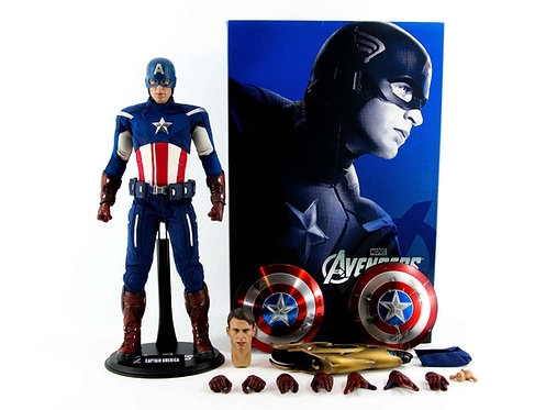 Hot Toys MMS174 The Avengers Captain America - Excellent - CIB