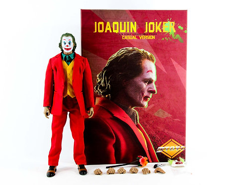 MTOYS MS008 Joaquin Phoenix Joker (Red Suit version) - Excellent - CIB