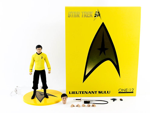 Mezco One:12 Collective Star Trek Lt Sulu - Excellent - CIB