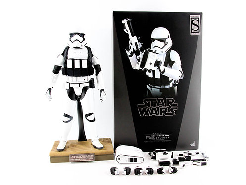 Hot Toys MMS333 Star Wars: TFA First Order Jakku Stormtrooper - Excellent - CIB