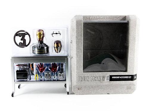 Hot Toys ACS002 Iron Man 3 Workshop Accessories Set - Like New - CIB