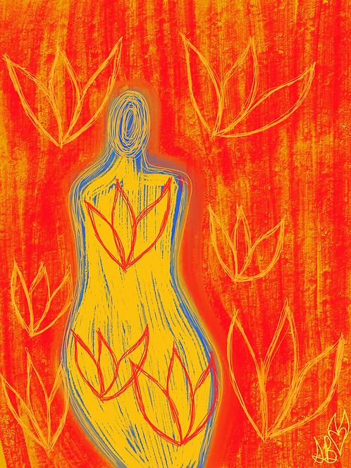 """""""We Bloom"""" Art Print"""