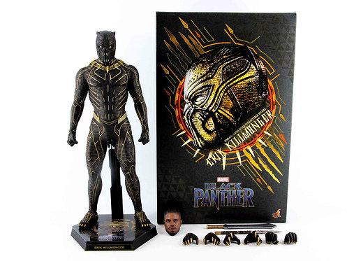 Hot Toys MMS471 Black Panther Erik Killmonger - Excellent - CIB