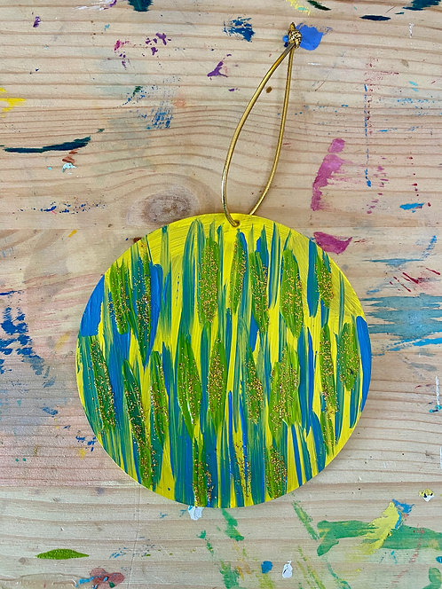Hand-Painted Ornament 4