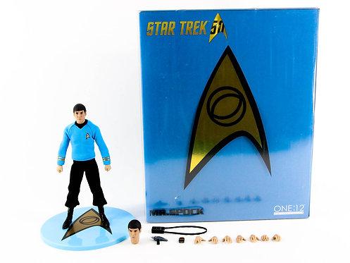 Mezco One:12 Collective Star Trek Mr Spock - Excellent - CIB