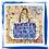 Thumbnail: Abstract Hand-Painted Tote Bag