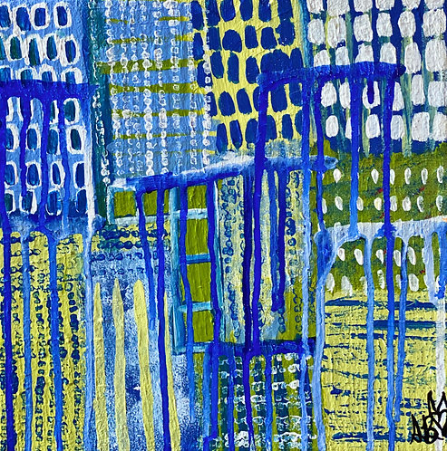 """""""A Turning Point"""" Original Abstract Painting"""
