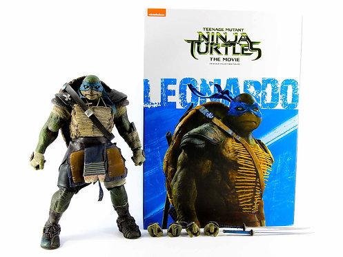 Threezero Teenage Mutant Ninja Turtles the Movie Leonardo - Excellent - CIB