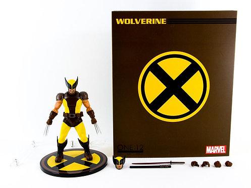 Mezco One:12 Collective The X-Men Wolverine Brown/Yellow suit - Excellent - CIB