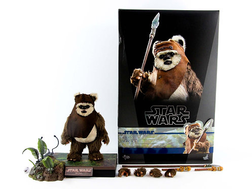 Hot Toys MMS550 Star Wars: ROTJ Wicket - Excellent - CIB