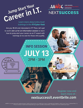 Jump Start Your Career in IT! Information Session.jpg