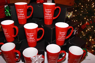 """*New* """"Inspired"""" Praise and Coffee Mugs"""