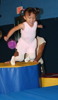 Lauren's First Gymnastics Class!