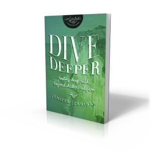 {Guest Post} Dive Deeper: Finding Deep Faith Beyond Shallow Religion