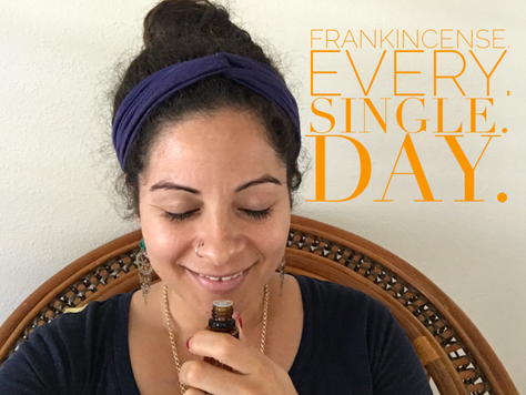 Malama Mondays: Why I use frankincense essential oil everyday!