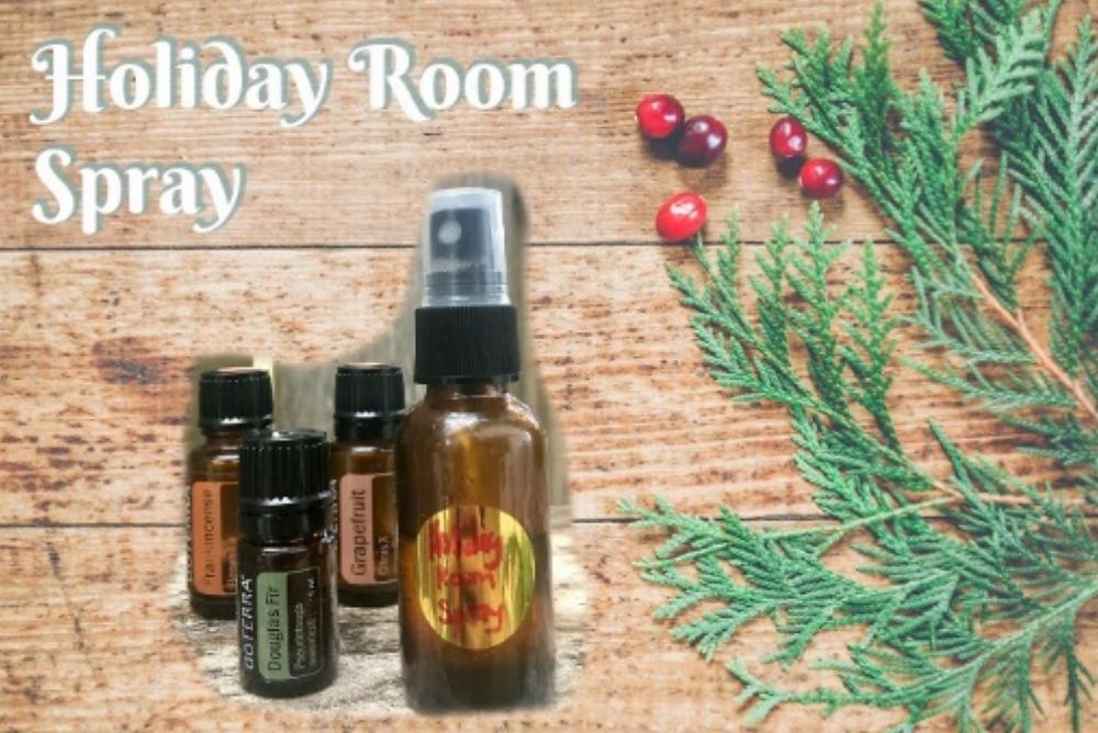 DIY Holiday Room Spray With Essential Oils