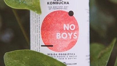 NO BOYS Sabor a Hibiscus e Frutos Vermelhos HIBISCUS AND BERRIES