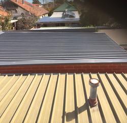 Roof Restoration on Garage
