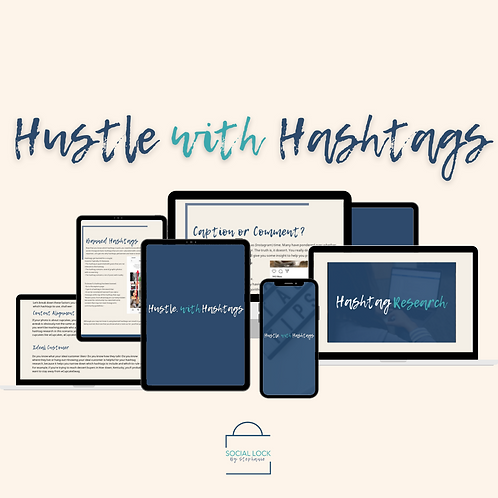 Hustle With Hashtags by Social Lock