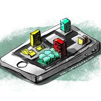 What characteristics define mobile-learning?